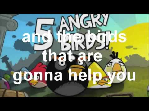 The Angry Birds Rap With Lyrcs By BshapMusic