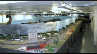 MASSIVE HO Train Layout Elmhurst Model Railroad Club