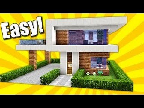 Minecraft hướng dẫn xây nhà biệt thự đẹp-dễ[Phần 2]