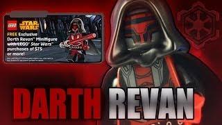 LEGO Star Wars : DARTH REVAN - Exclusive Minifigure Review