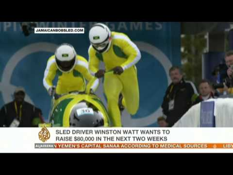 Jamaica's bobsled team heads to Sochi Games
