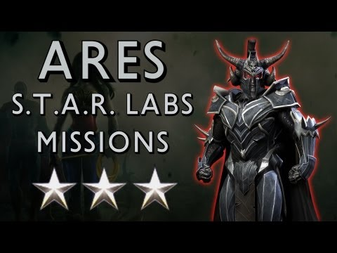 Injustice: Gods Among Us - Ares S.T.A.R.S. LAB Missions 232-240 ✩✩✩ [1080p] TRUE-HD QUALITY