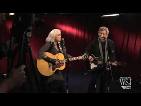 Emmylou Harris, Rodney Crowell Perform 