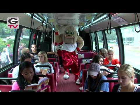 GANGNAM STYLE PARODY - Hairy Dawg w/ Georgia Basketball: 2012
