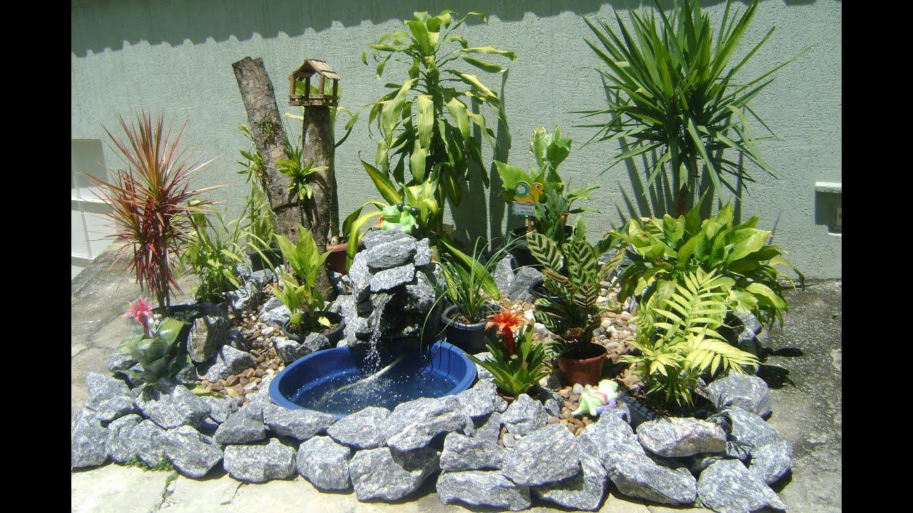 Como fazer um lago de jardim ( Faça você mesma ) DIY  YouTube