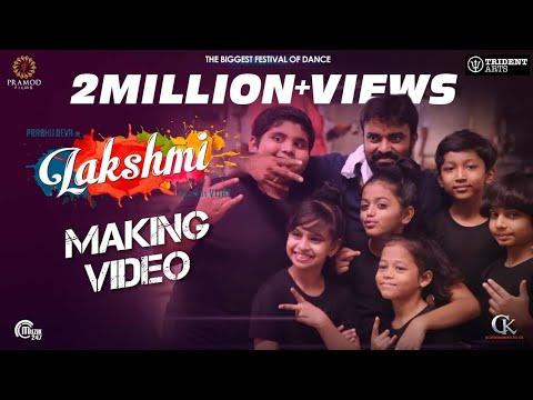 Lakshmi  Making Video  Prabhu Deva