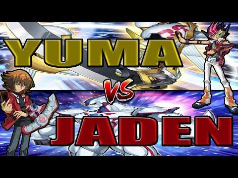 YUMA TSUKUMO VS JADEN YUKI   YUGIOH DIMENSIONAL CHAMPIONSHIP 2   YGOPRO   TH3B4TMaN