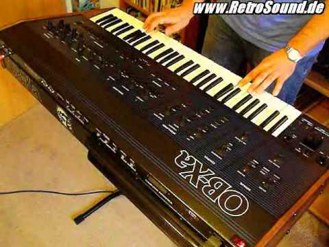Oberheim OB-Xa Analog Synthesizer (1980) pt.1