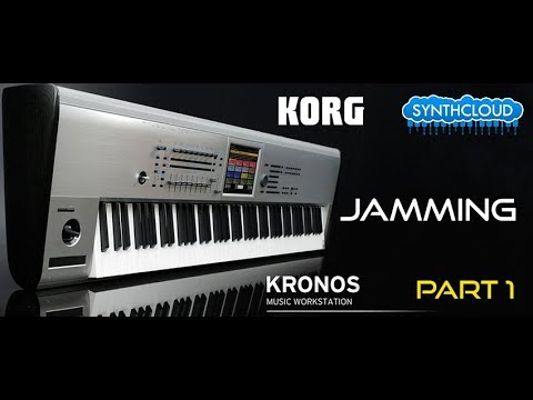 Korg Kronos Demo part 1: Piano, Pads, Strings - performed by S4K Team Alex DD ( space4keys )