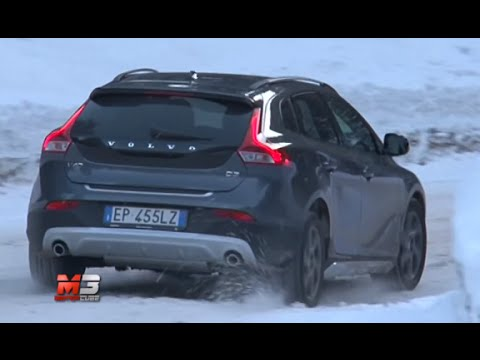 VOLVO V40 CROSS COUNTRY - TEST DRIVE .