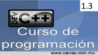 Tutorial Programación en C++ 1.3 (Operadores sumar restar multiplicar dividir)