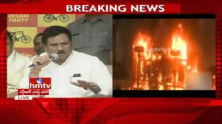China Rajappa slams YS Jagan & his party members over Tuni incident