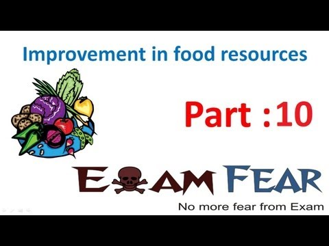Biology Improvement in Food Resources part 10 (Cropping pattern) CBSE class 9 IX