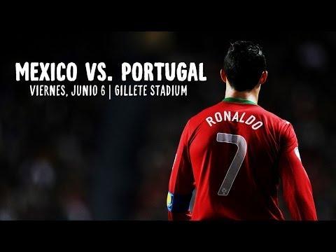 ESPAÑOL: Ronaldo y Portugal vs. Mexico en Boston, MA | Rumbo a Brazil