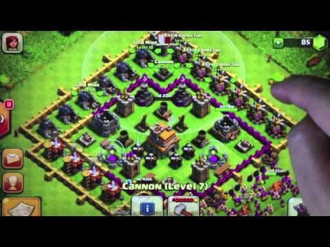 Clash of Clans - Defence Strategy Part 4