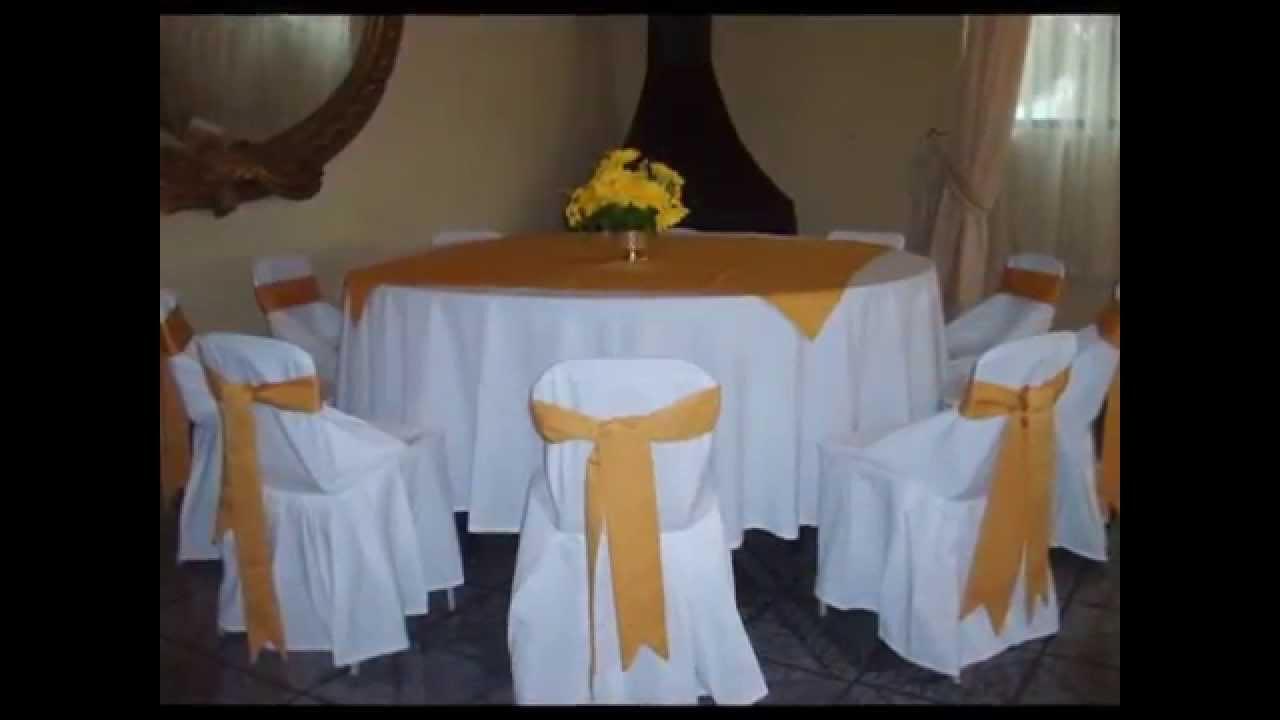 Mesas y sillas para comunion youtube for Todo mesas y sillas