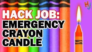 HACK: Emergency Crayon Candle/Grill - Hack Job #4