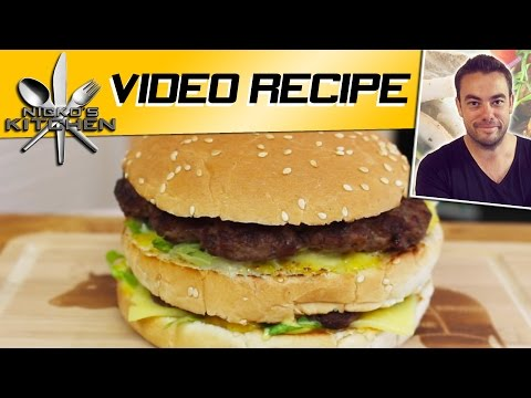 HOW TO MAKE A BIG MAC - CLASSIC RECIPE