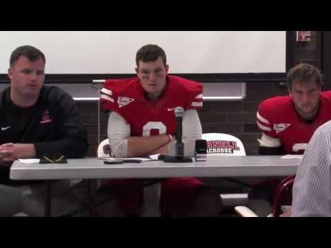Football: Cornell vs Harvard Postgame Press Conference