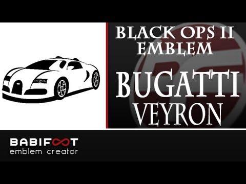 cod black ops 2 emblem tutorial bugatti veyron youtube. Black Bedroom Furniture Sets. Home Design Ideas