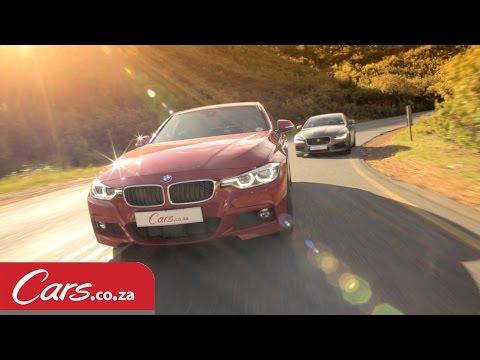 BMW 340i vs Jaguar XE S Driving and Interior Comparison