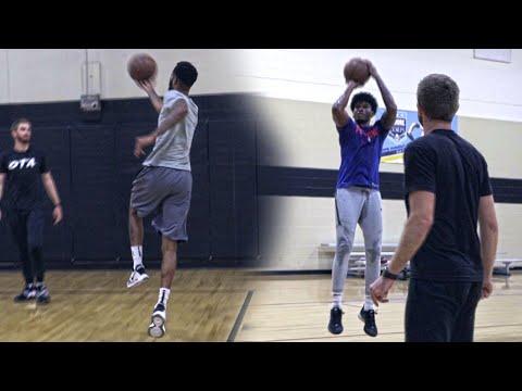 Basketball Skills Training: Scoring Off The Catch