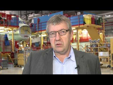 Rüdiger Lütjen Konzernbetriebsratsvorsitzender Airbus Group