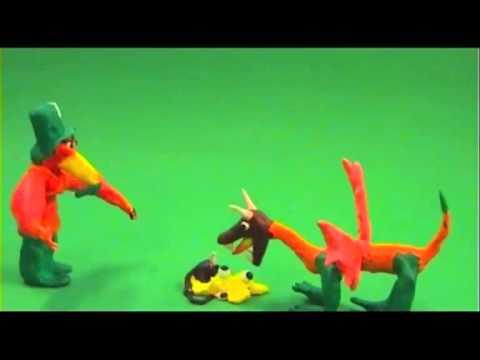 Animatiefilms KLEI Bonhoefercollege 2013 middag - De Draak zonder hoed