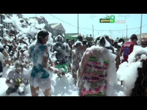 Gran fiesta de la espuma de la Feria de San Ginés 2015