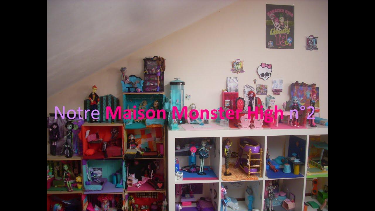 Dollhouse Notre Maison Monster High n°2 ! [HD]  YouTube