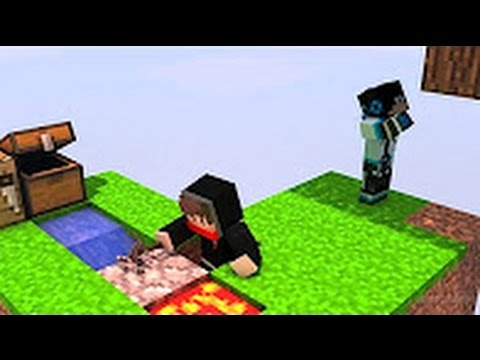 Minecraft SkyBlock Tập 1: 3 CHÚ HEO CON XÂY NHÀ w/Cracked Red The .