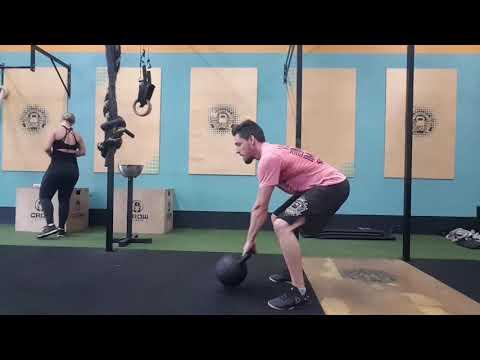 Flip Kettlebell Slow motion kb 40kg - Crossfit Dádiva