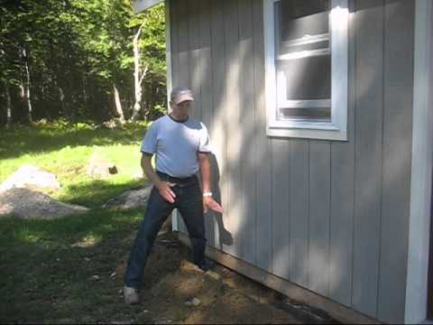 How To Rodent Proof A Shed Youtube