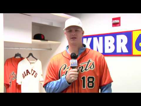 KNBR Giants FanFest 2014 - Matt Cain
