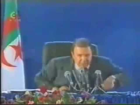 ALGERIE Abdelaziz Bouteflika en kabylie (1999)