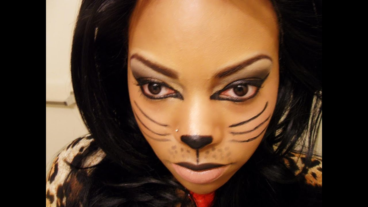 Sexy Cat Makeup For Halloween Halloween Costume &amp...