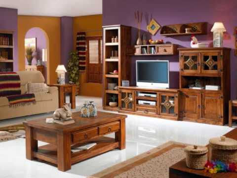 Muebles rusticos ilmode net youtube for Muebles vanitorios rusticos