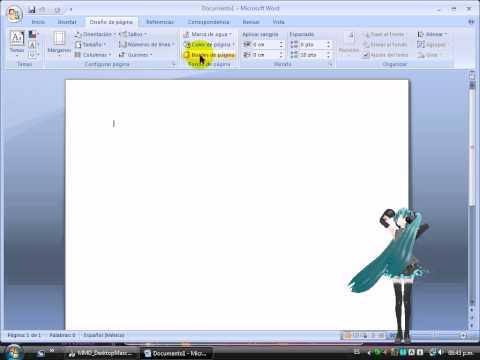 Como descargar bordes de pagina para word 2007 - Imagui