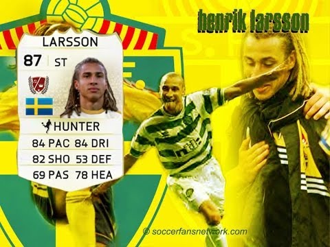 Henrik Larsson  - Master  Player Review - FIFA 14 Ultimate team