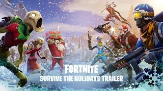 Fortnite - Survive the Holidays Bejelentés Trailer