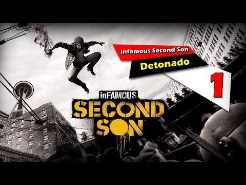 Infamous Second Son - PS4 - Playthrough #1 [Detonado PT-BR] - DUBLADO - AO VIVO