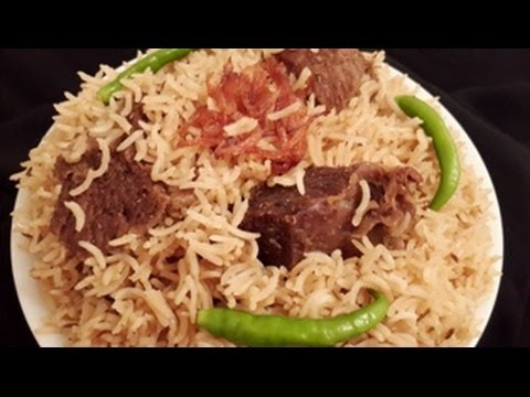 Yakhni Beef Pulao in Urdu/Hindi by Azra Salim
