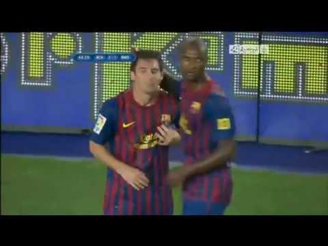 C.Ronaldo celebrated goal Leo Messi