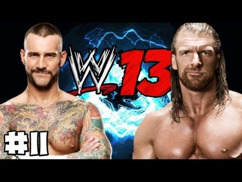 WWE 13 - Universe Mode - Episode 11 (Raw & Smackdown) (HD) (Gameplay)