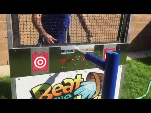 Beat the Bucket Water Game, Interactive Water Dunking Game | Magic Jump Rentals 800-873-8989