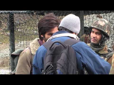 Shahid Kapoor on #Haider set