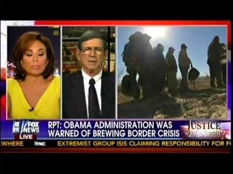 Judge Jeanine Pirro   Obama Wants $3 7 Billion To Fight Illegal Immigrant Surge