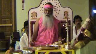 Sri Chakra Puja Performed By His Holiness Sri Swamiji In