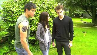 Behind The Scenes Of Eclipse Parody By The Hillywood Show