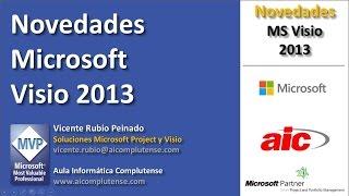 Novedades Microsoft Visio 2013